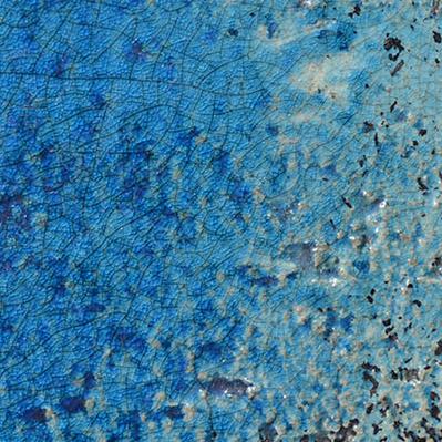 Rakuglasuren orientblau glanz