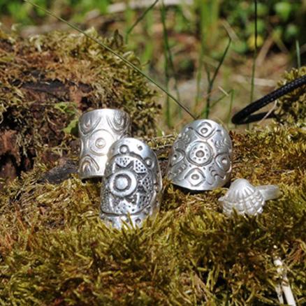 Ringe aus echtem Silber selber gestalten, ganz einfach von Zuhause aus