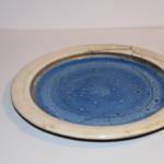 Rakuglasur Persischblau