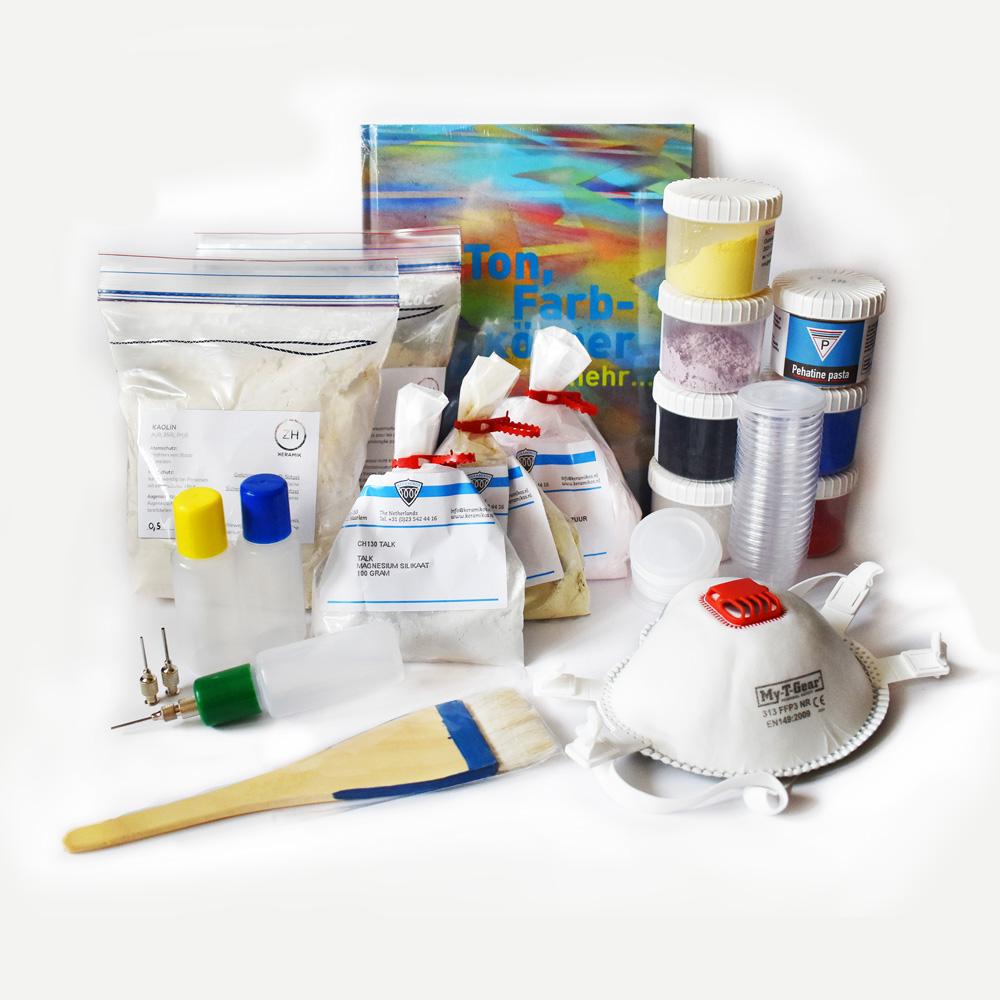 Arbeite mit den Produkten aus dem Buch Ton, Farbkörper und mehr …